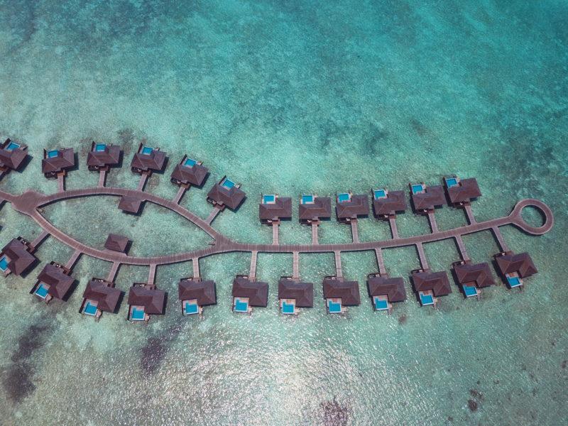 ハイダウェイビーチリゾート水上ヴィラ