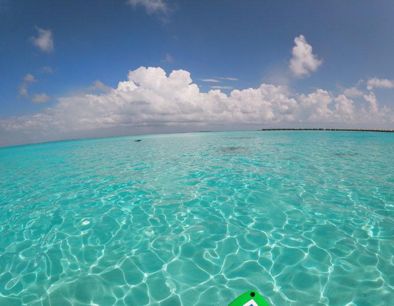 Maldives lagoon view