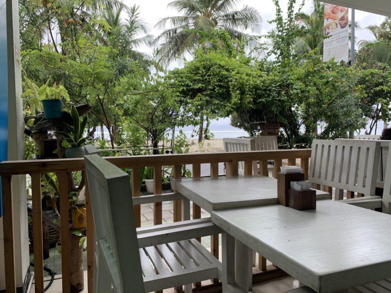 モルディブ、フルマーレ島のカフェ