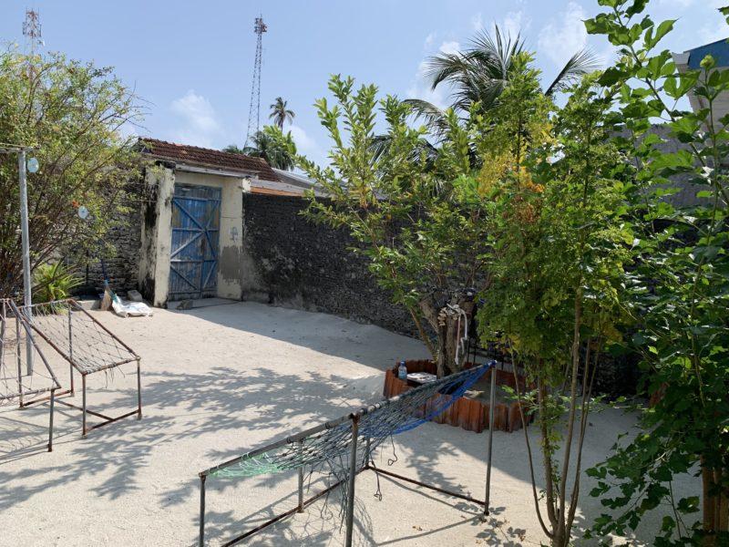 モルディブの家