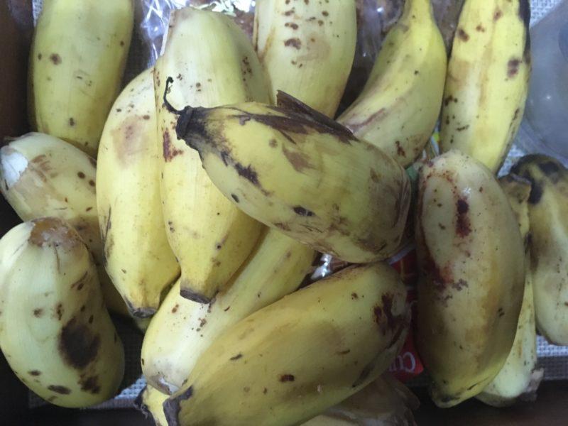 モルディブ産バナナ