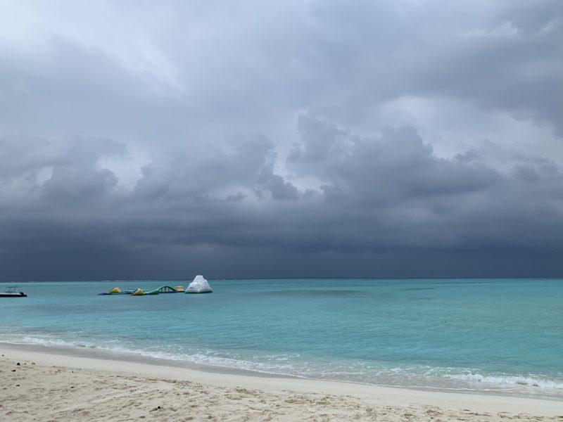 近いてくる雨雲
