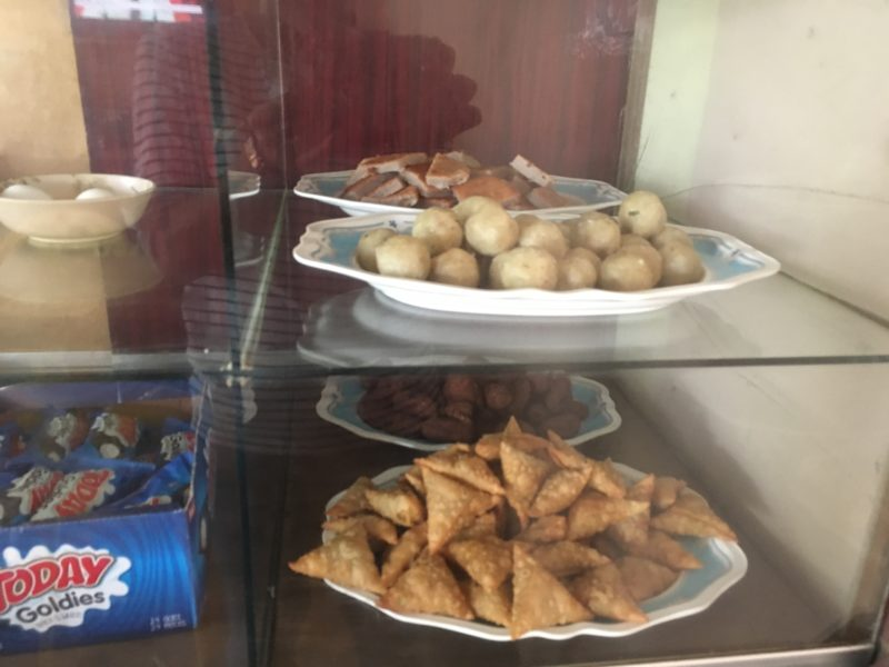 モルディブ、ローカルカフェ