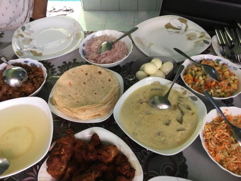 モルディブ家庭料理