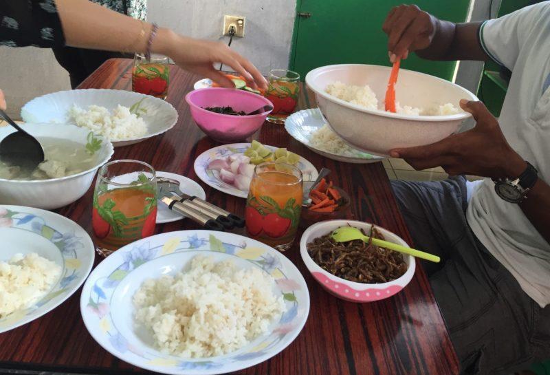 モルディブお昼ご飯