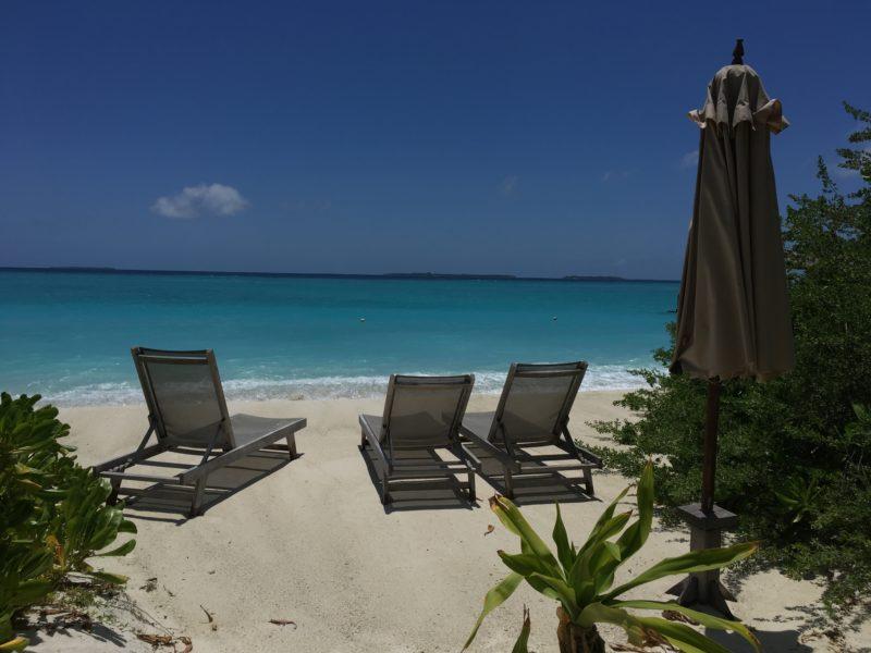 Barefoot eco hotel beach