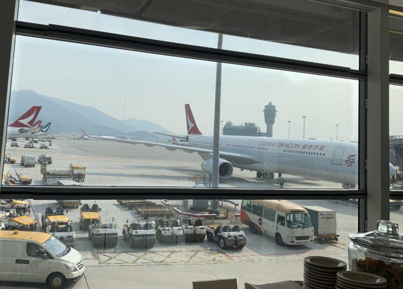 香港空港の風景