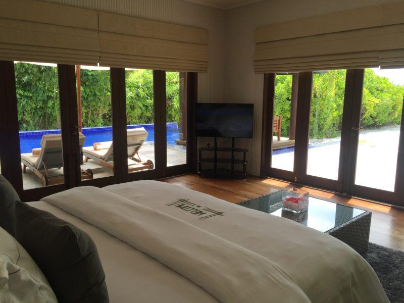 ハイダウェイビーチリゾートのファミリーヴィラ、ベッドルーム