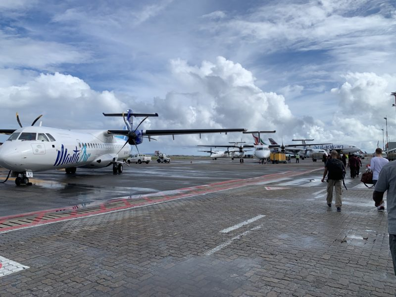 Maldive Male' airport