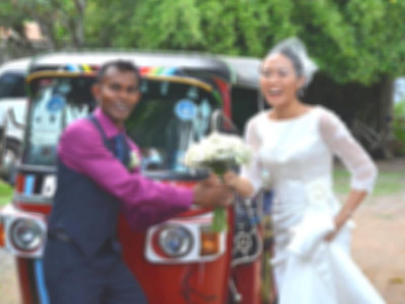 スリランカで結婚式