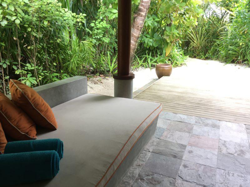 Anantara Dhigu Resort- Beach villa