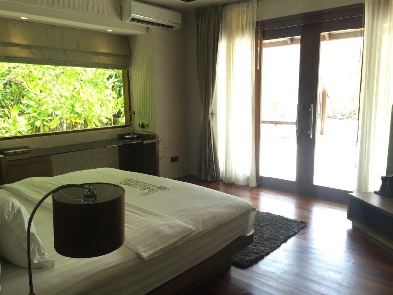 Hideaway beach resort- sunset beach villa- bedroom