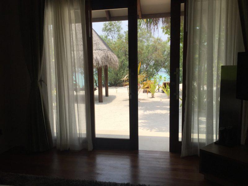 Hideaway beach resort- sunset beach villa - deck