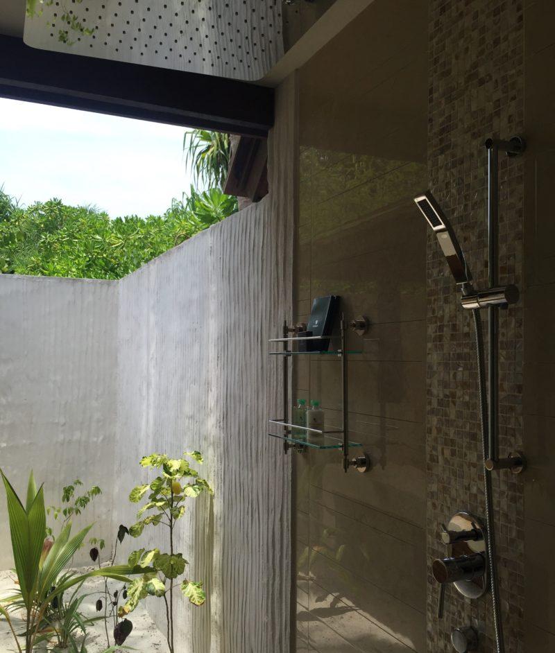 Hideaway beach resort- sunset beach villa- shower area