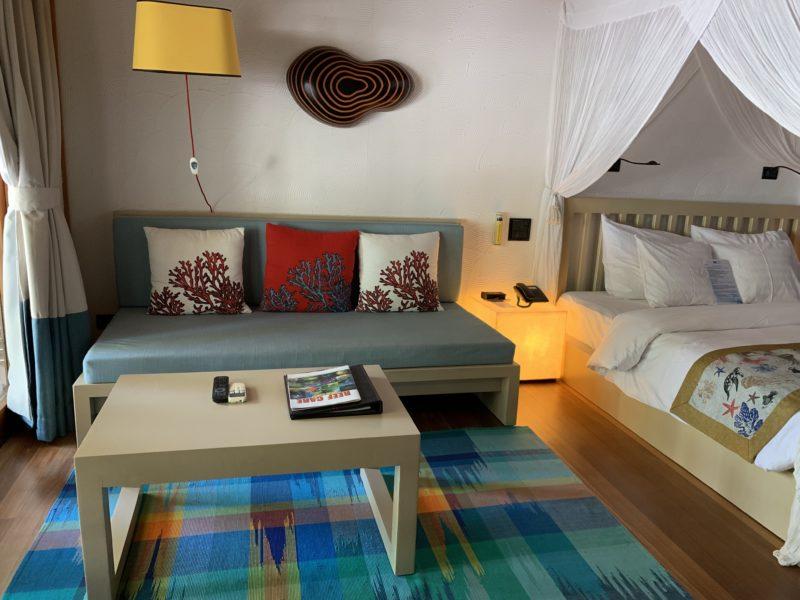 Meeru island resort- Jacuzzi beach villa