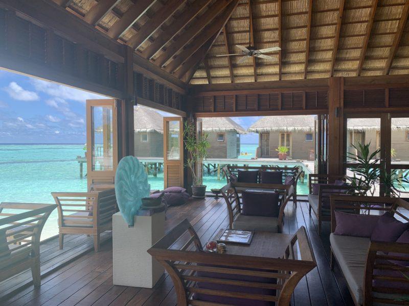 Meeru island resort- over water spa