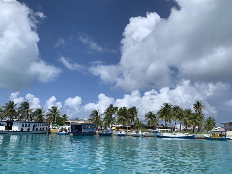 Local island in Maldives