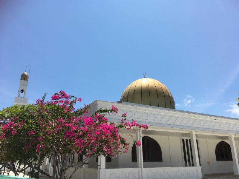Mosque in Maldives