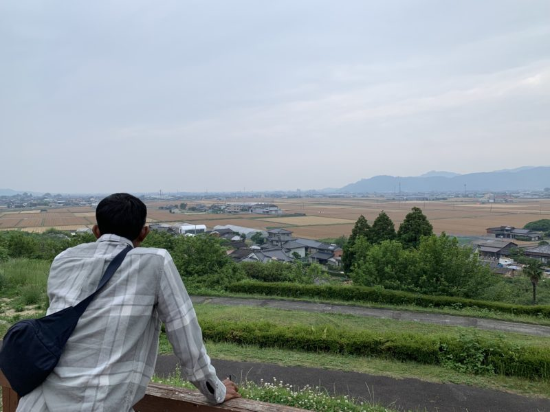 Local area view in Japan