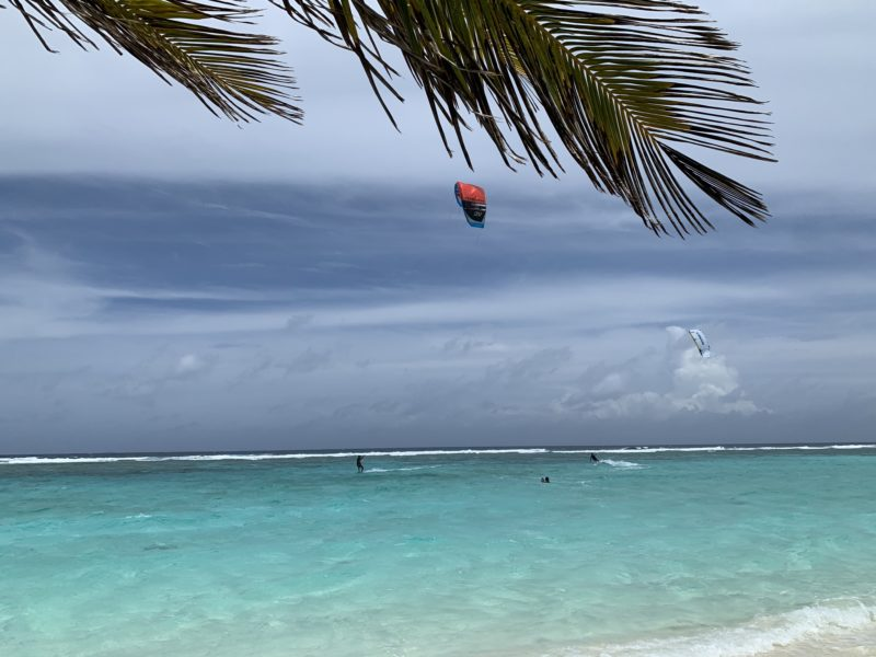 Kitesurfing in Maldives